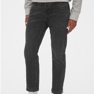 Gap Men's Easy Taper Jeans - Black (night shadow)